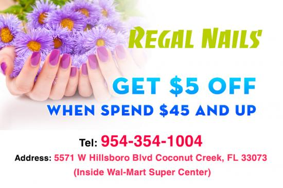 coupons for regal nails